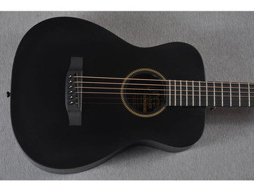 Little Martin LX Black Acoustic Guitar - Top View