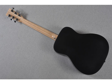 Little Martin LX Black Acoustic Guitar - Back View