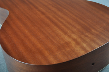 Martin 00L-17 Whiskey Sunset Acoustic Guitar #1960778 - Back Angle