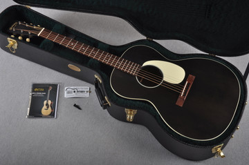 Martin 00L-17 Black Smoke Acoustic Guitar #1978937 - Case