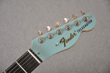 Fender American Telecaster Thinline Ltd Edition - Daphne Blue - View 7