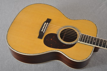 Martin 000-42 Standard Acoustic Guitar #2255826 - Top Angle