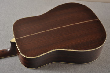 Eastman E40D Acoustic Guitar Dreadnought Adi Top Hand Scalloped - View 6