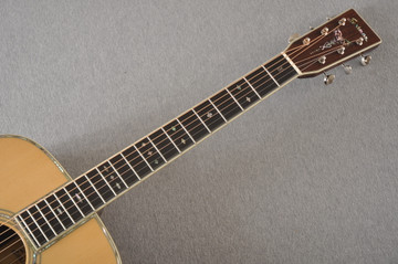 Eastman E40D Acoustic Guitar Dreadnought Adi Top Hand Scalloped - View 10