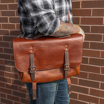 Martin 18N0287 Calhoun Style Messenger Bag - Laptop Case - View 4