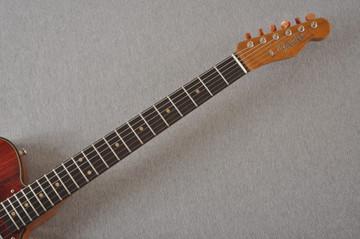Fender Custom Shop Telecaster Thinline Artisan Cocobolo 7.44 lbs - View 11