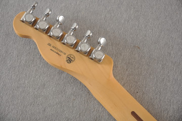 Fender Deluxe Nashville Tele - White Blonde Telecaster - View 4