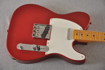 Fender Custom Shop 1957 Telecaster Relic Candy Apple Red - View 6