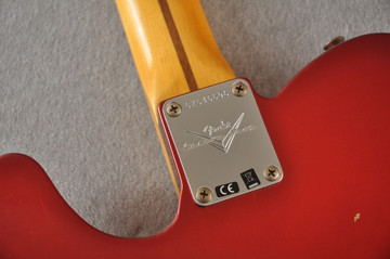 Fender Custom Shop 1957 Telecaster Relic Candy Apple Red - View 4