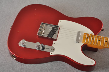 Fender Custom Shop 1957 Telecaster Relic Candy Apple Red - View 10