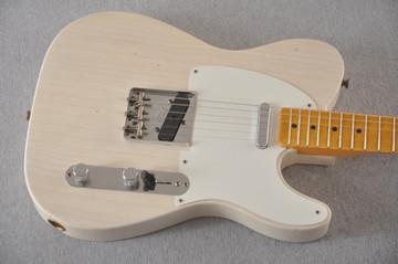 Fender Custom Shop 1957 Telecaster Journeyman Relic White Blonde - View 6