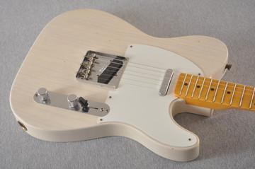 Fender Custom Shop 1957 Telecaster Journeyman Relic White Blonde - View 9
