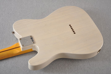 Fender Custom Shop 1957 Telecaster Journeyman Relic White Blonde - View 11