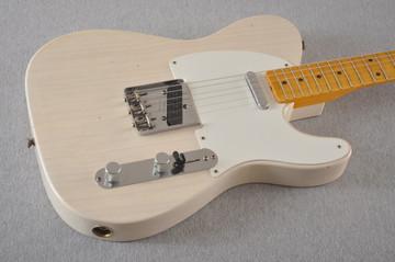 Fender Custom Shop 1957 Telecaster Journeyman Relic White Blonde