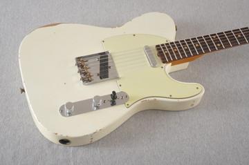 Fender Custom Shop 1961 Telecaster Relic Olympic White
