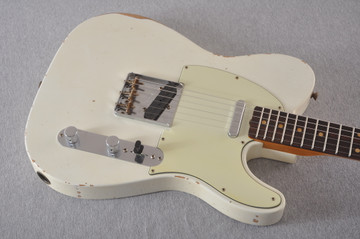 Fender Custom Shop 1961 Telecaster Relic Olympic White - View 11