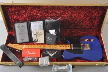 Fender Nocaster Custom Shop 51 NOS - Cobalt Blue - 6 lbs 9.8 ozs - View 2