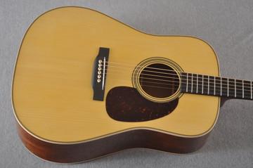 Martin Custom NAMM Figured Sinker Mahogany Dread 18 #2293406 - Top