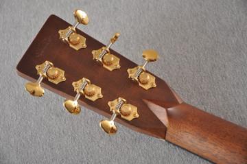 Martin Custom NAMM Figured Sinker Mahogany Dread 18 #2293406 - Back Headstock