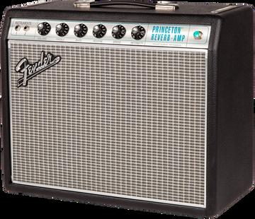 Fender '68 Custom Princeton Reverb Tube Combo Guitar Amplifier - View 3