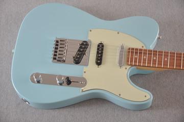 Fender Deluxe Nashville Tele - Daphne Blue Telecaster - View 10
