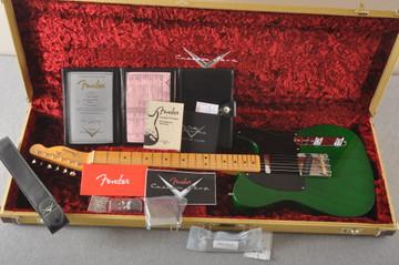 Fender Nocaster Custom Shop 51 NOS Emerald Green 7 lbs 2.3 oz - View 2