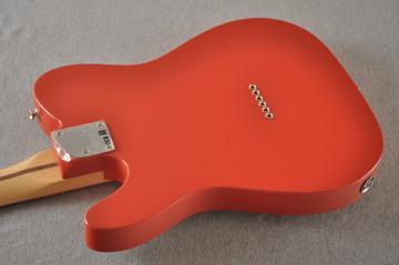 Fender Deluxe Nashville Tele - Fiesta Red Telecaster - View 7