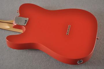 Fender Deluxe Nashville Tele - Fiesta Red Telecaster - View 5