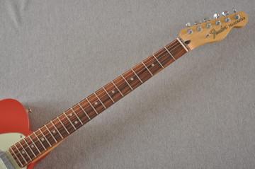 Fender Deluxe Nashville Tele - Fiesta Red Telecaster - View 9
