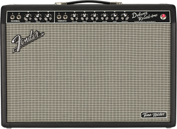 Fender Tone Master Deluxe Reverb Guitar Amplifier - 22 Watts - View 3