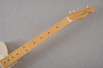 Fender Custom Telecaster Vintage 1958 Top Load Tele White Blonde - View 7