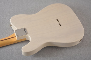 Fender Custom Telecaster Vintage 1958 Top Load Tele White Blonde - View 6