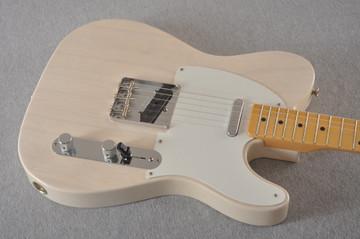 Fender Custom Telecaster Vintage 1958 Top Load Tele White Blonde - View 10