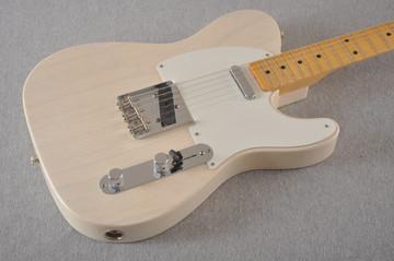 Fender Custom Telecaster Vintage 1958 Top Load Tele White Blonde