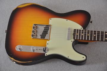 Fender Custom Shop 1961 Telecaster Relic Sunburst Texas Specials - View 6