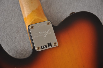 Fender Custom Shop 1961 Telecaster Relic Sunburst Texas Specials - View 3