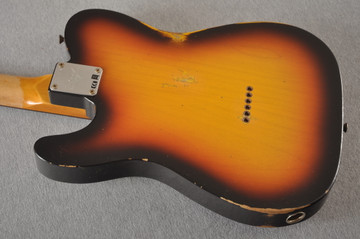 Fender Custom Shop 1961 Telecaster Relic Sunburst Texas Specials - View 11