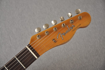 Fender Custom Shop 1961 Telecaster Relic Sunburst Texas Specials - View 7