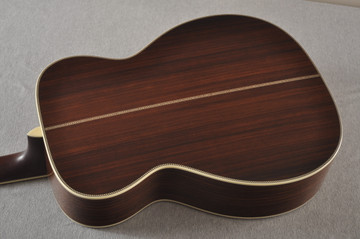 Eastman E40OM Acoustic Guitar Orchestra Model Adi Top Sunburst - View 6