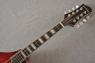 Eastman Mandolin MD605 Electric Pickup With Solid Spruce Top - View 5