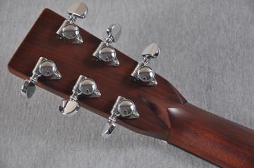 2016 Martin Custom Shop 00-28 Guatemalan Acoustic Guitar #2054111 - Back Headstock