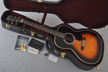 Martin Custom Shop 00-28 Slope Adirondack Indian Rosewood Autumn Sunset #2166940 - Case