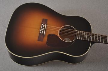 Gibson J-45 Standard 12 String Acoustic Guitar Sunburst LR Baggs - View 9