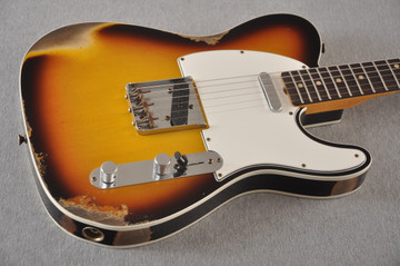 Fender 1964 Telecaster Custom Shop Heavy Relic Aged Sunburst
