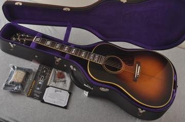 Gibson 1942 Banner Southern Jumbo Acoustic Guitar Adi Hide Glue - View 2