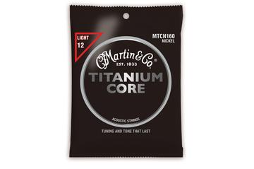 Martin Guitar Strings MTCN160 - Titanium Core - Light Gauge