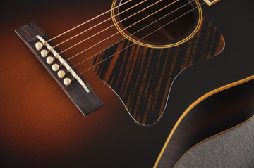 Gibson 1934 Jumbo Acoustic Guitar Adirondack Waverly Hide Glue - Bridge