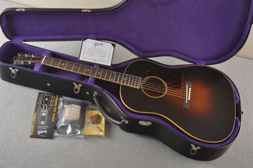 Gibson 1934 Jumbo Acoustic Guitar Adirondack Waverly Hide Glue - Case