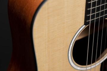 Kids Beginner Acoustic Guitar - Martin Dreadnought Junior - Sitka - View 7