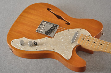 Fender Telecaster Thinline 1968 Vintage Custom Natural - View 5